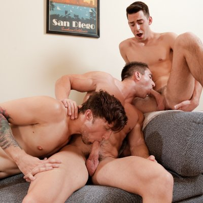 Scotty, Lance, and Victor - Next Door World photo gallery