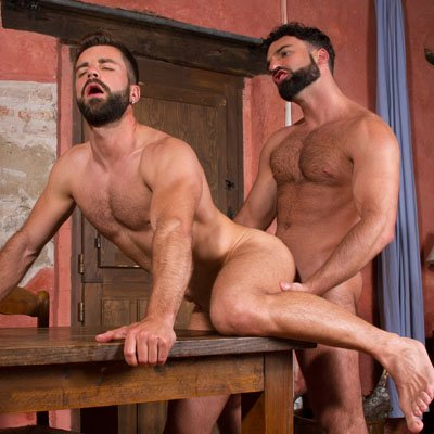 Abraham Al Malek and Hector de Silva - Raging Stallion photo gallery