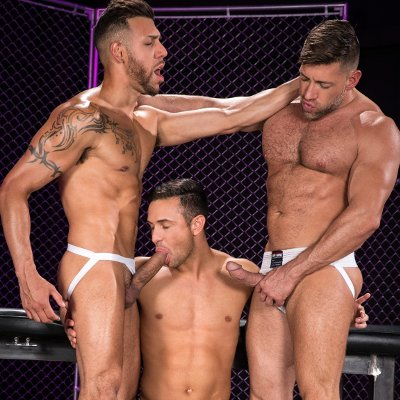 Josh sucks off FX and Bruce - Raging Stallion photo gallery