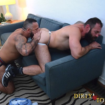 George Glass and Alessio Romero flip fuck - Raw - Dirty Tony photo gallery