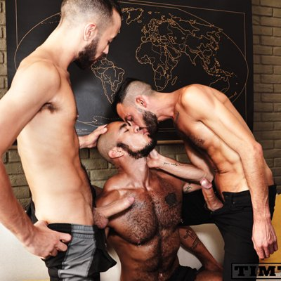 Rodolfo and Fostter Riviera fuck Louis Ricaute - Raw - Tim Tales photo gallery