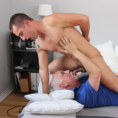 Wolfie Blue gets serviced - Cocksure Men photo gallery