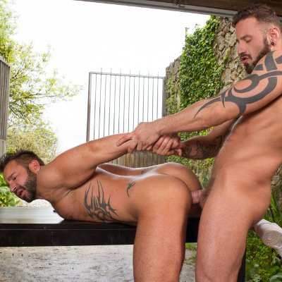Antonio Miracle rams Martin Mazza - Raging Stallion photo gallery