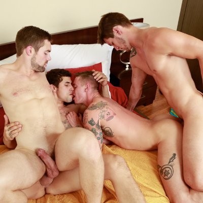 Ass-pounding foursome - Next Door World photo gallery
