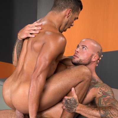 Sean Duran drills Tyson Glover - Raging Stallion photo gallery