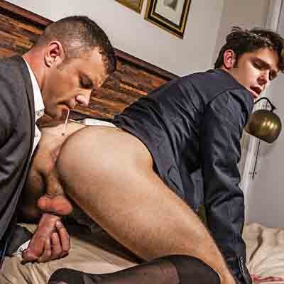 Devin Franco and Sergeant Miles flip fuck - Raw - Lucas Entertainment photo gallery