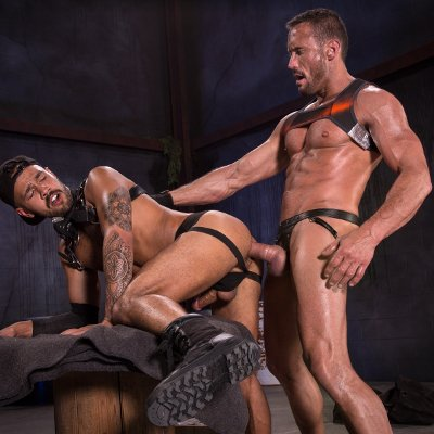 Myles Landon drills Talon Reed - Raging Stallion photo gallery