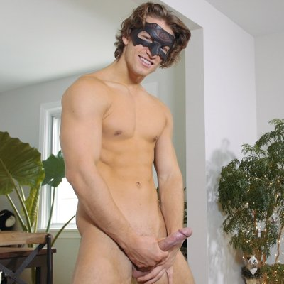 Jake puts on a private show - Maskurbate photo gallery
