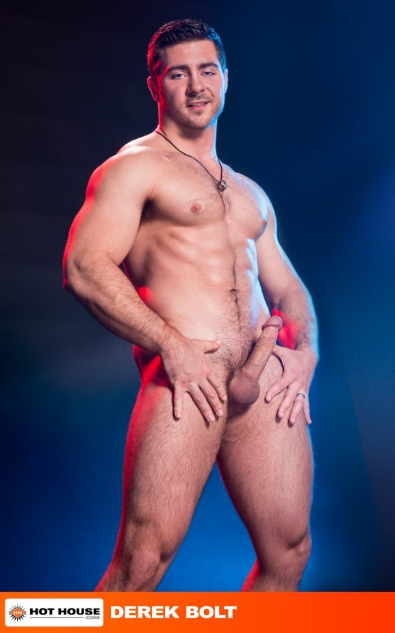 naked big muscle french men