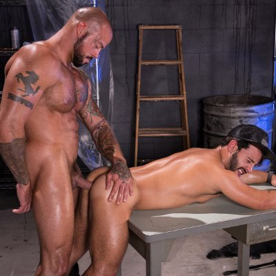 Sean Duran pounds Rafael Lords - Raging Stallion photo gallery