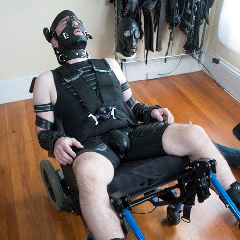 SFDom works over BoundTight - Serious Male Bondage photo gallery