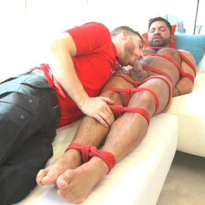 Dominic Pacifico gets edged - Kink Men photo gallery