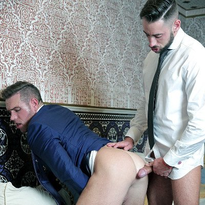 Massimo Piano tops Alex Mecum - Men at Play photo gallery