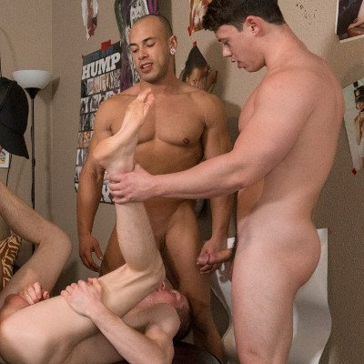 Charlie Patterson, Kyle, Tobias and Leon Lewis - Raw - Reality Dudes photo gallery