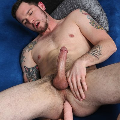 Robbie Rivers jerks off - Chaos Men photo gallery
