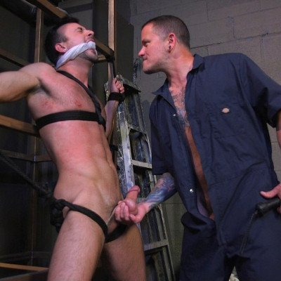 Mason Lear submits to Max Cameron - Kink Men photo gallery