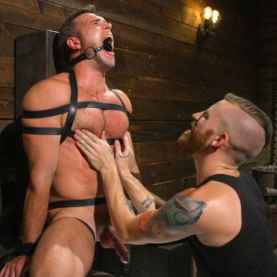 Alex Mecum gets abused - Kink Men photo gallery