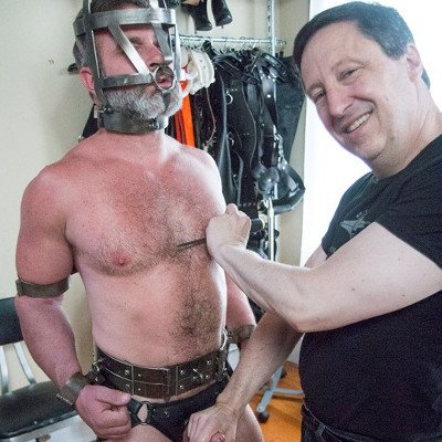 SFDom tortures Kristofer Weston - Serious Male Bondage photo gallery