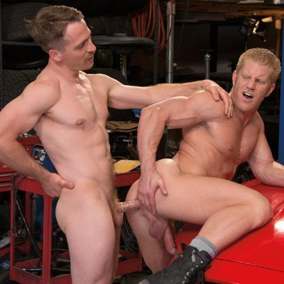 Nate Stetson nails Johnny V - Falcon Studios photo gallery