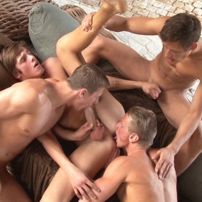 4-man orgy - Raw - Bel Ami Online photo gallery