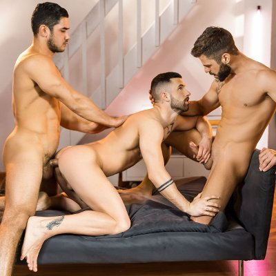 Dato Foland, Hector De Silva and Sunny Colucci - Men.com photo gallery