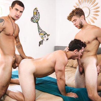 Vadim, Tobias and Todd - Men.com photo gallery