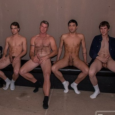 5-man orgy - Titan Men photo gallery