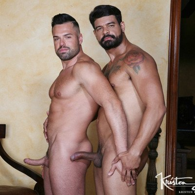 Gabriel Lunna and Bambam - Raw - Kristen Bjorn photo gallery