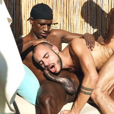 Devon Lebron and Patrick Grau top Patrick Dei - Raw - Tim Tales photo gallery