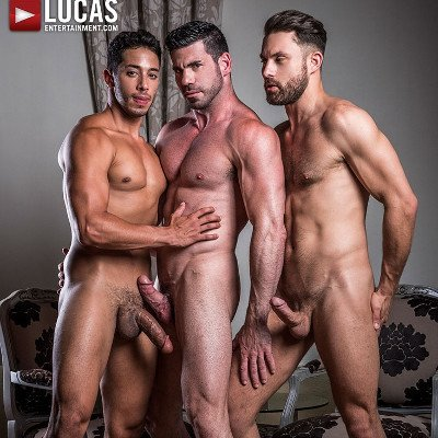 Drae Axtell, James Castle and Billy Santoro - Raw - Lucas Entertainment photo gallery