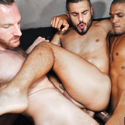 Tim and Caio double-fuck Chucho Martin - Tim Tales photo gallery