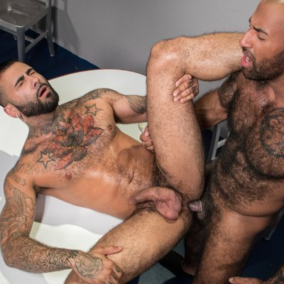 Rikk York and Daymin Voss flip fuck - Raging Stallion photo gallery