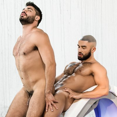 Francois Sagat rams Nicolas Brooks - Men.com photo gallery