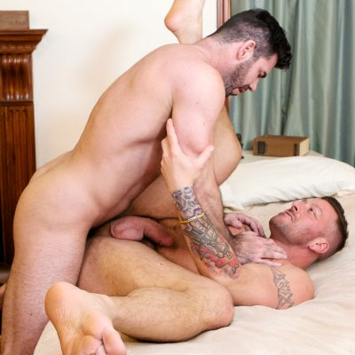 Billy Santoro tops Hugh Hunter - Icon Male photo gallery