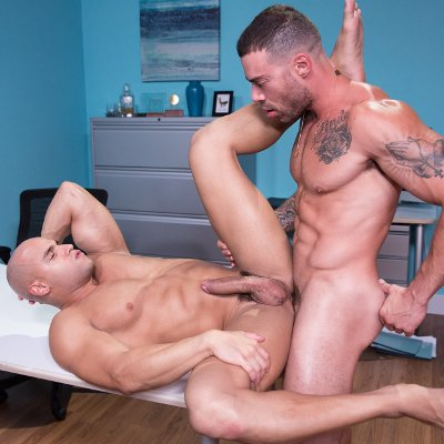 Sean Zevran and Carlos Lindo flip fuck - Hot House photo gallery