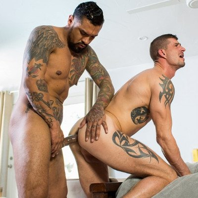 Boomer Banks and Sean Maygers flip fuck - Cocky Boys photo gallery