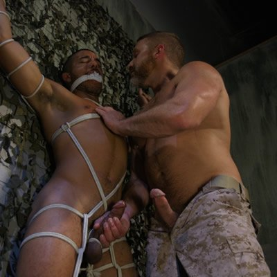Dirk Caber punishes Mike Maverick - Kink Men photo gallery