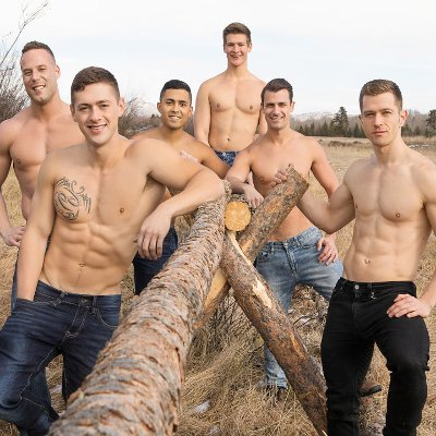 6-man orgy, part 2 - Raw - Sean Cody photo gallery