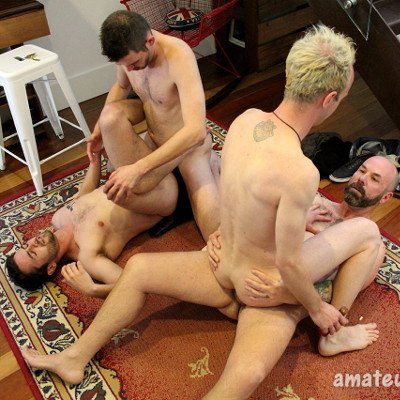 Jaxon, Jerry, Danny and Tyler  - Amateurs Do It photo gallery