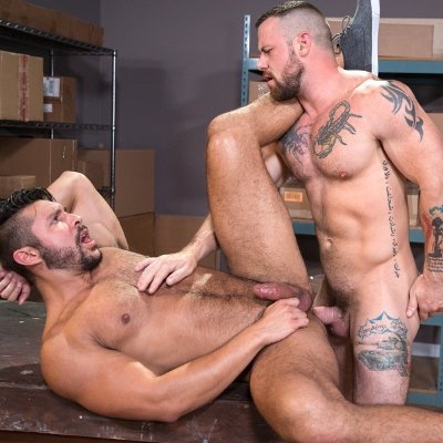 Sergeant Miles rams Seth Santoro - Raging Stallion photo gallery