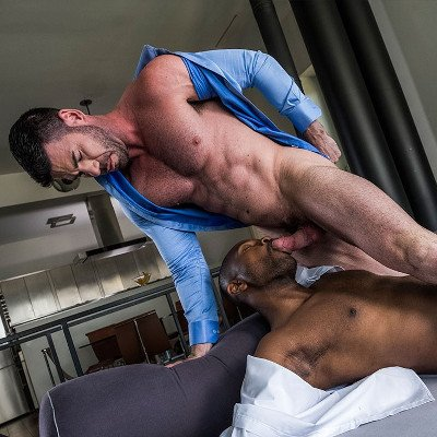 Billy Santoro and Lawrence Portland flip fuck - Raw - Lucas Entertainment photo gallery
