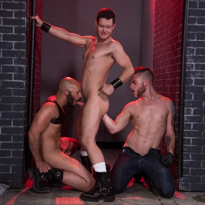 Ashley, Dylan and Sebastian - Club Inferno Dungeon photo gallery