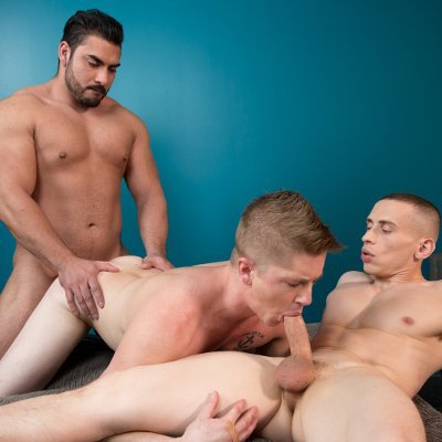 Dante, Chris and Derek - Raw - Next Door Studios photo gallery