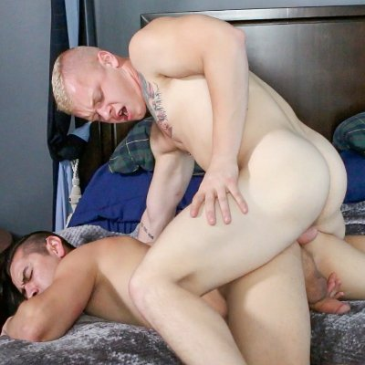 Leo Luckett and Zander Cole flip fuck - Icon Male photo gallery
