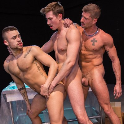 Jack, Beaux and Sean - Raging Stallion photo gallery