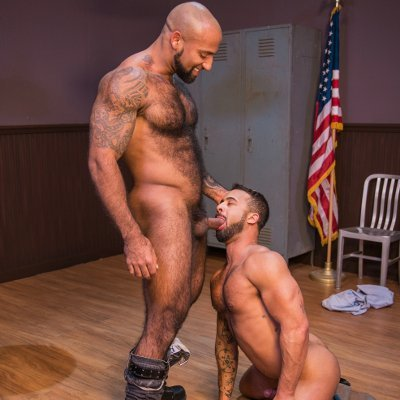 Daymin Voss and Damian Taylor swap oral - Raging Stallion photo gallery
