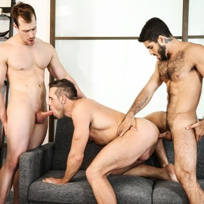 Diego, Alex and Blake - Men.com photo gallery