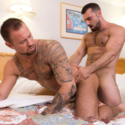Jaxton Wheeler pounds Michael Roman - Icon Male photo gallery