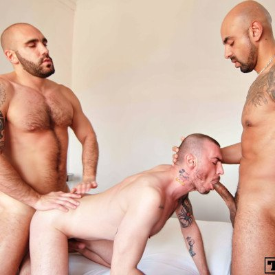 Geo Dovek's takes two dicks at once - Raw - Tim Tales photo gallery