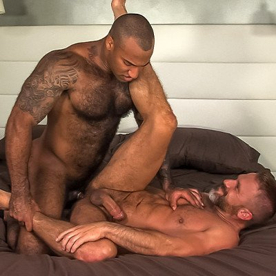 Dirk Caber and Daymin Voss flip fuck - Titan Men photo gallery